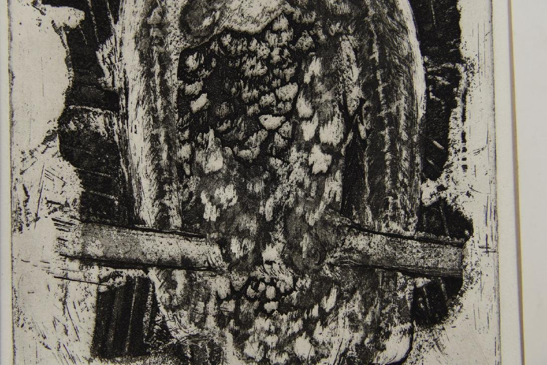 MARY OPPEN ETCHING - 5