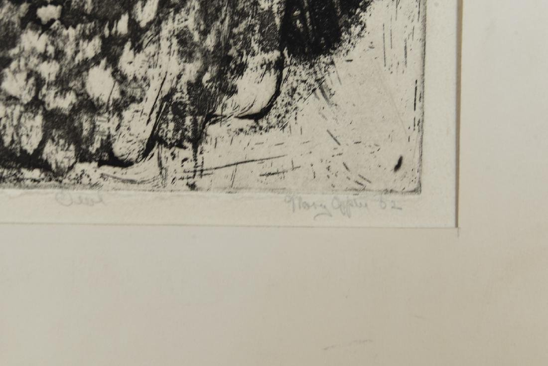 MARY OPPEN ETCHING - 6