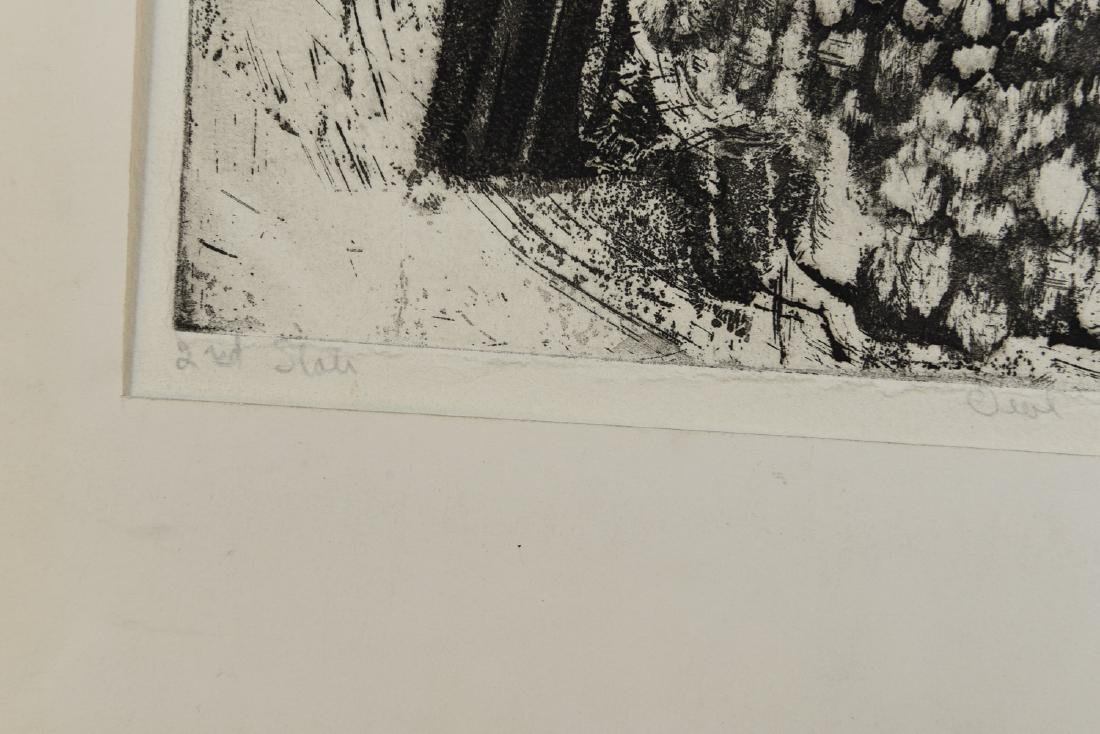 MARY OPPEN ETCHING - 7