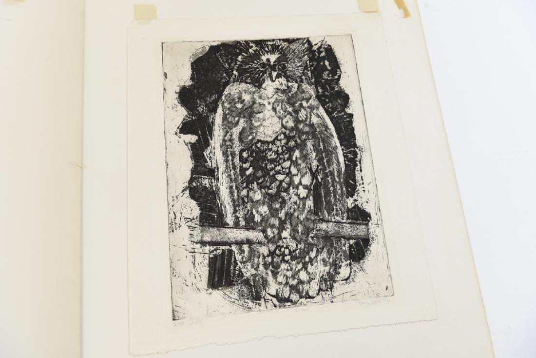 MARY OPPEN ETCHING - 8