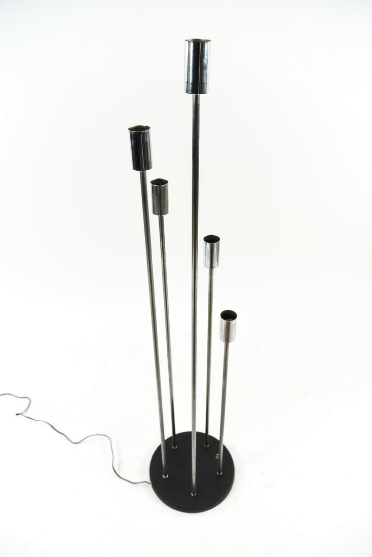 CHROME FLOOR LAMP - 7