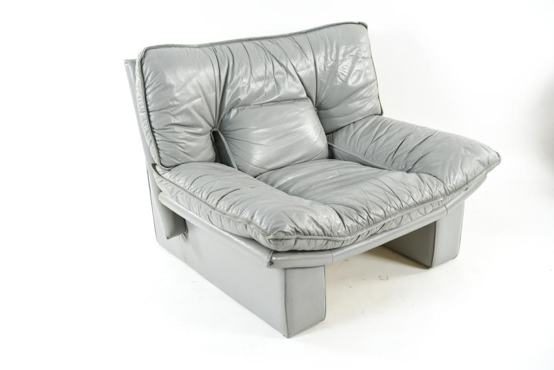 NICOLETTI ITALIA LEATHER FURNITURE SUITE - 10