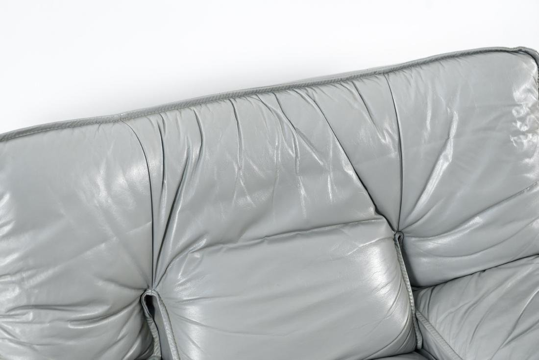 NICOLETTI ITALIA LEATHER FURNITURE SUITE - 4