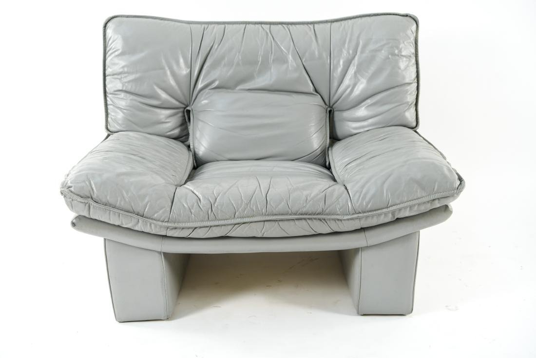NICOLETTI ITALIA LEATHER FURNITURE SUITE - 8