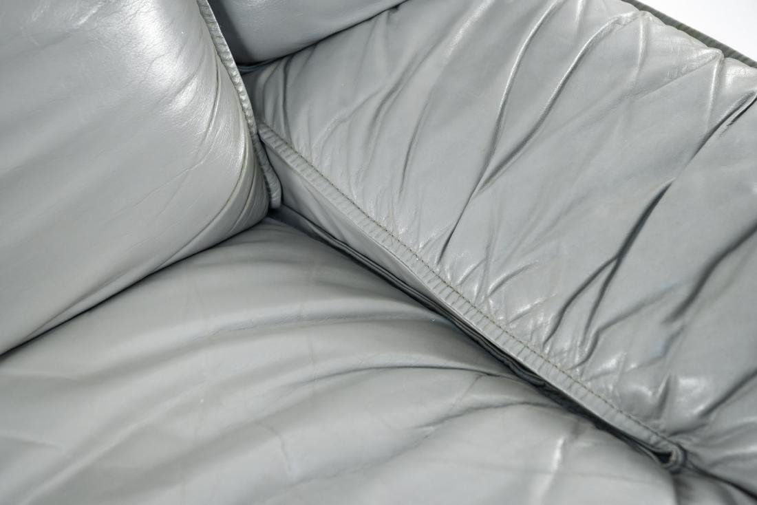 NICOLETTI ITALIA LEATHER FURNITURE SUITE - 9