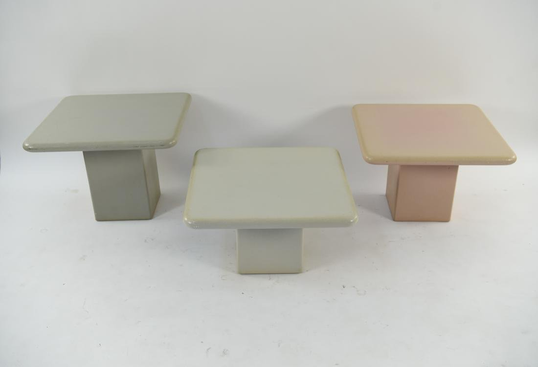 (3) SIDE TABLES