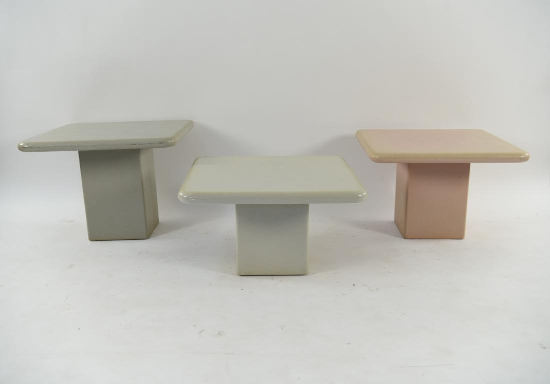 (3) SIDE TABLES - 2