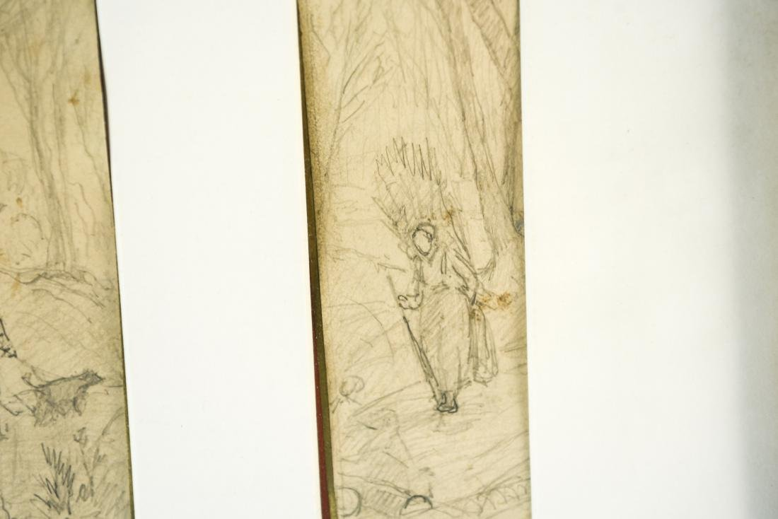 (4) DRAWINGS DATED 1870 - 10