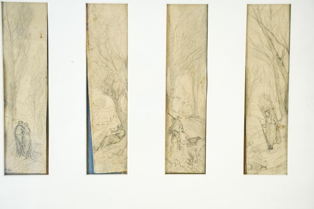 (4) DRAWINGS DATED 1870 - 2