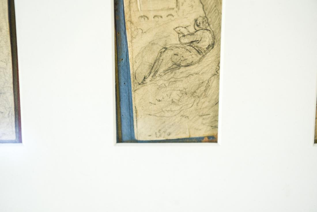 (4) DRAWINGS DATED 1870 - 5