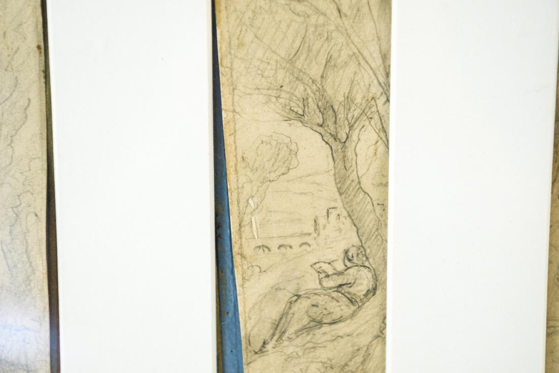 (4) DRAWINGS DATED 1870 - 6