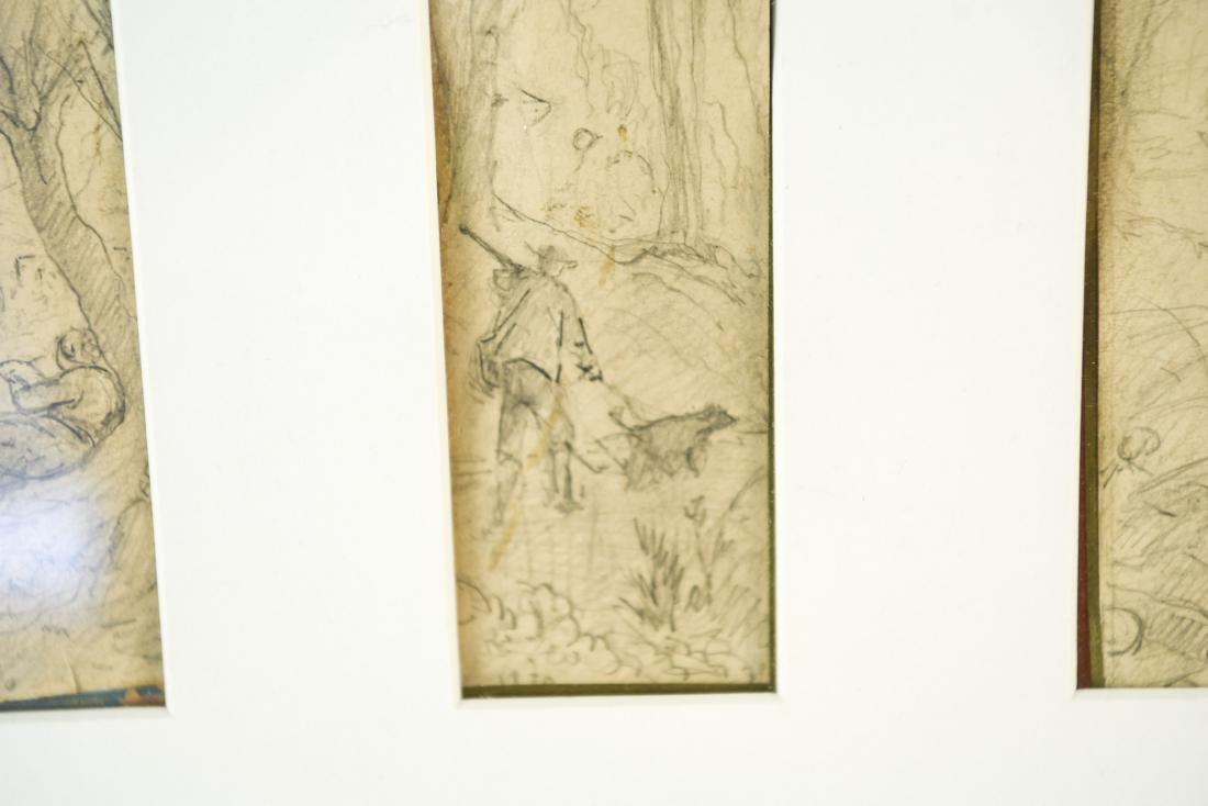 (4) DRAWINGS DATED 1870 - 8