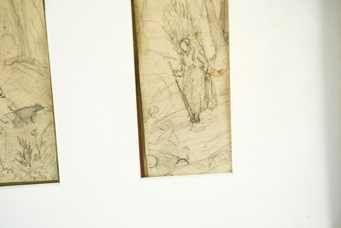 (4) DRAWINGS DATED 1870 - 9