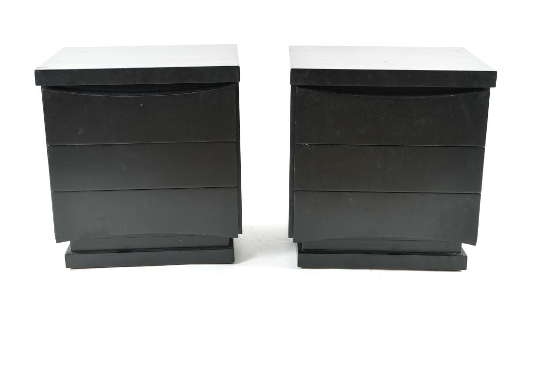 PAIR OF MID-CENTURY END TABLES OR NIGHT STANDS