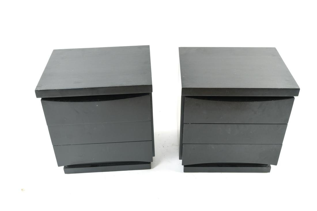PAIR OF MID-CENTURY END TABLES OR NIGHT STANDS - 2