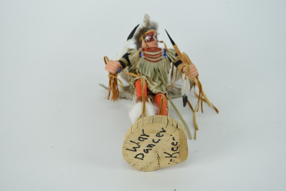 CONTEMPORARY NATIVE AMERICAN WAR DANCER - 10