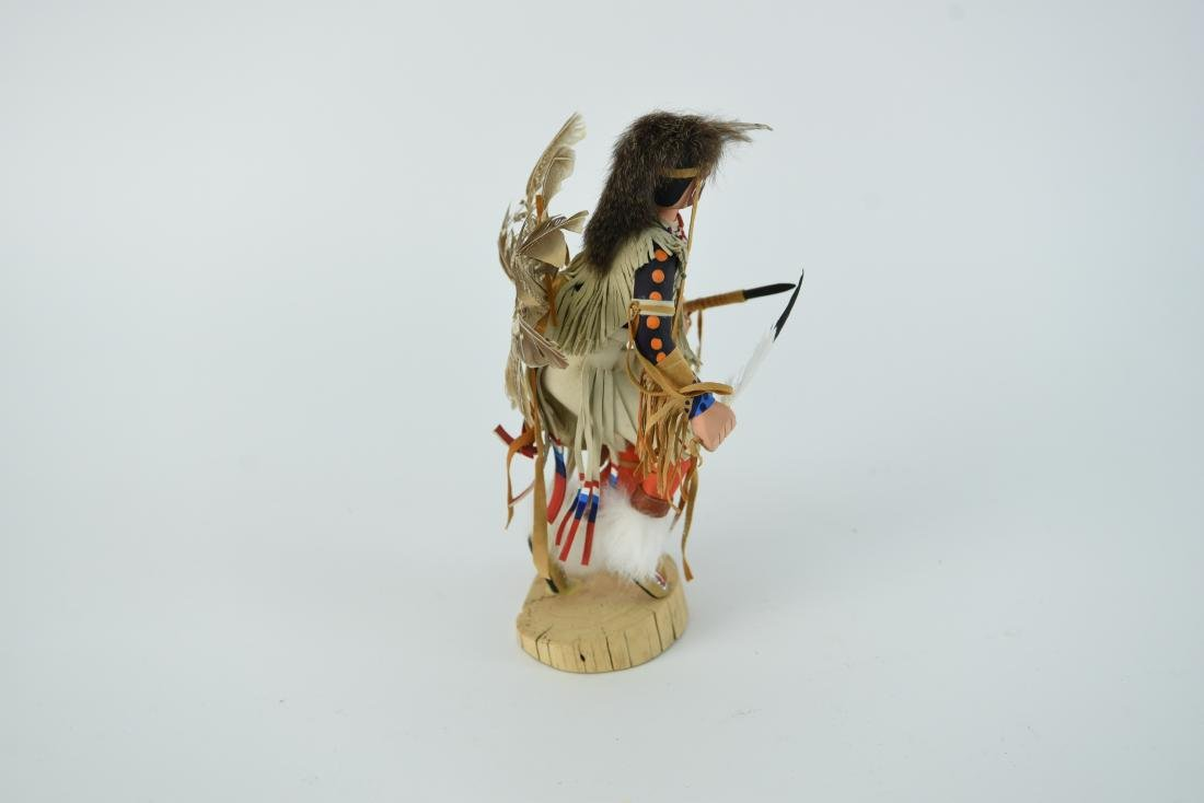 CONTEMPORARY NATIVE AMERICAN WAR DANCER - 7