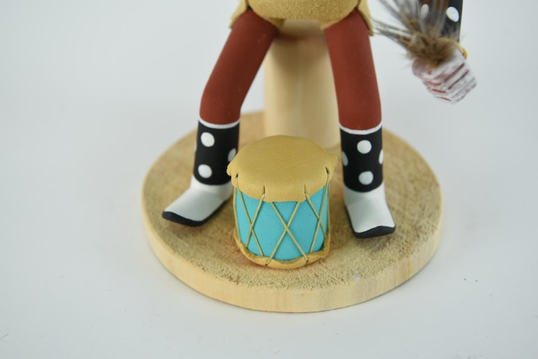 CONTEMPORARY NATIVE AMERICAN KACHINA DOLL - 5