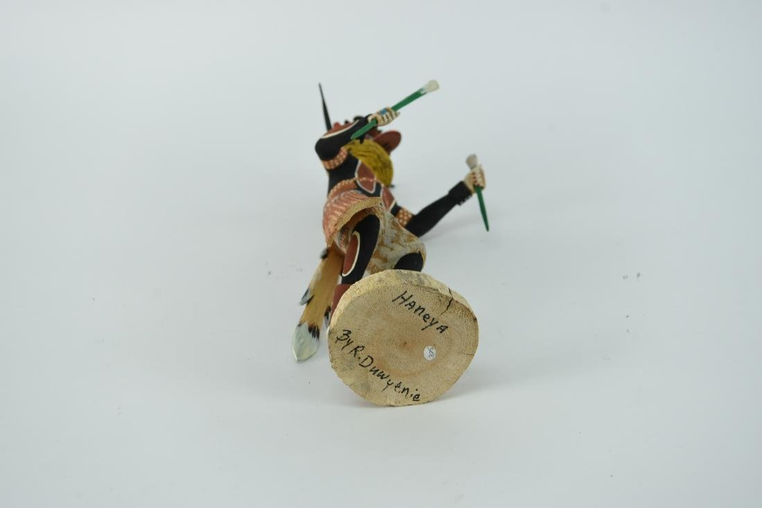 CONTEMPORARY NATIVE AMERICAN KACHINA DOLL - 10