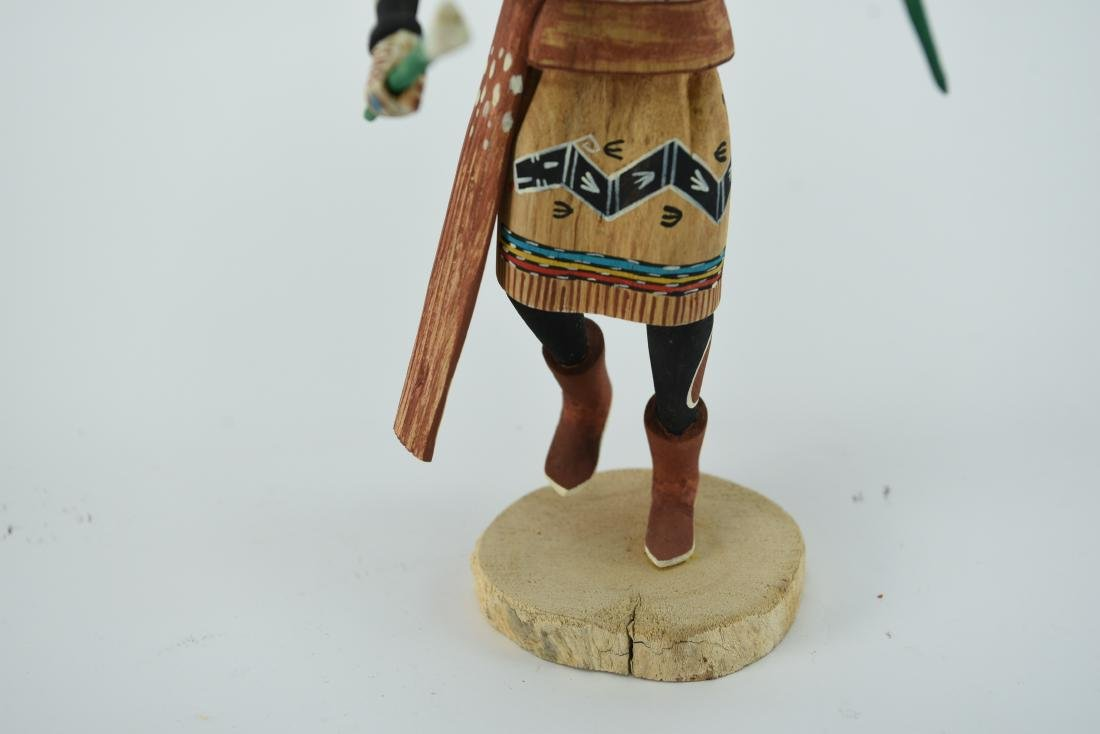 CONTEMPORARY NATIVE AMERICAN KACHINA DOLL - 4