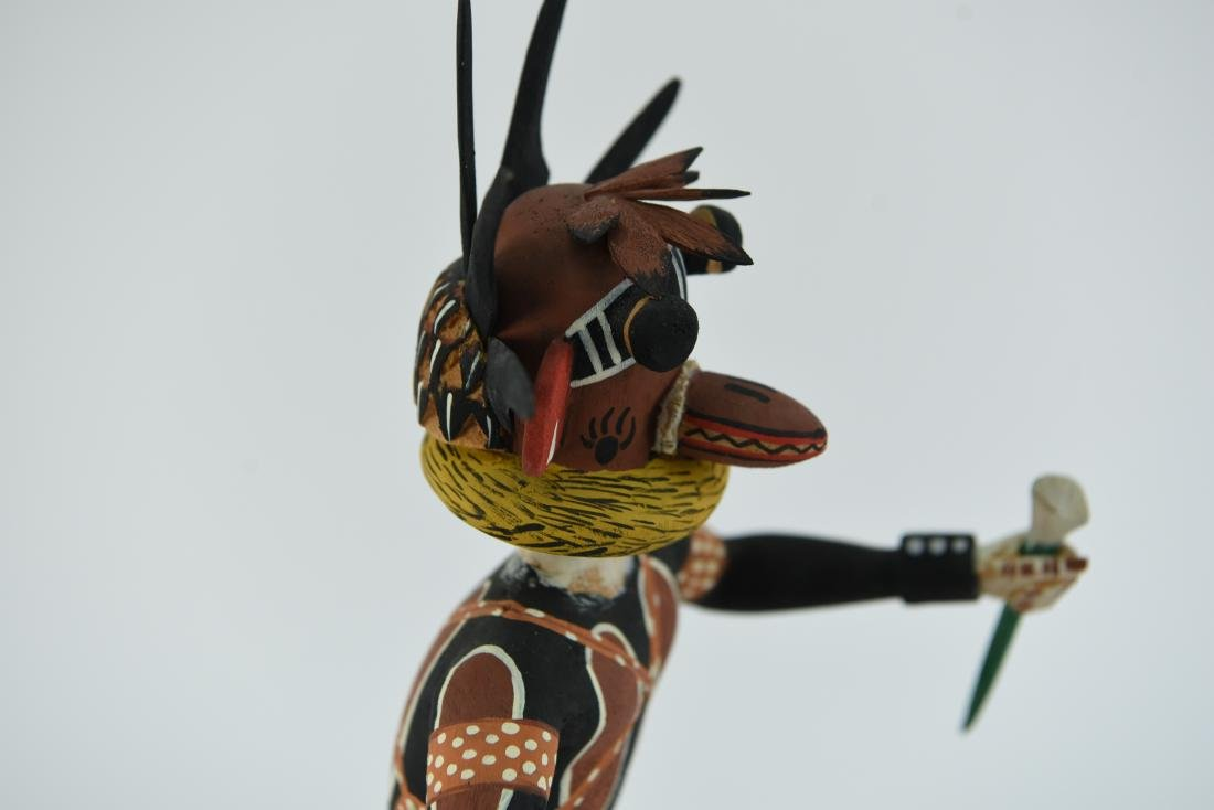CONTEMPORARY NATIVE AMERICAN KACHINA DOLL - 6