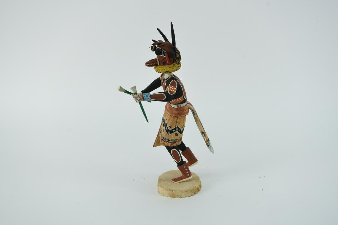 CONTEMPORARY NATIVE AMERICAN KACHINA DOLL - 9