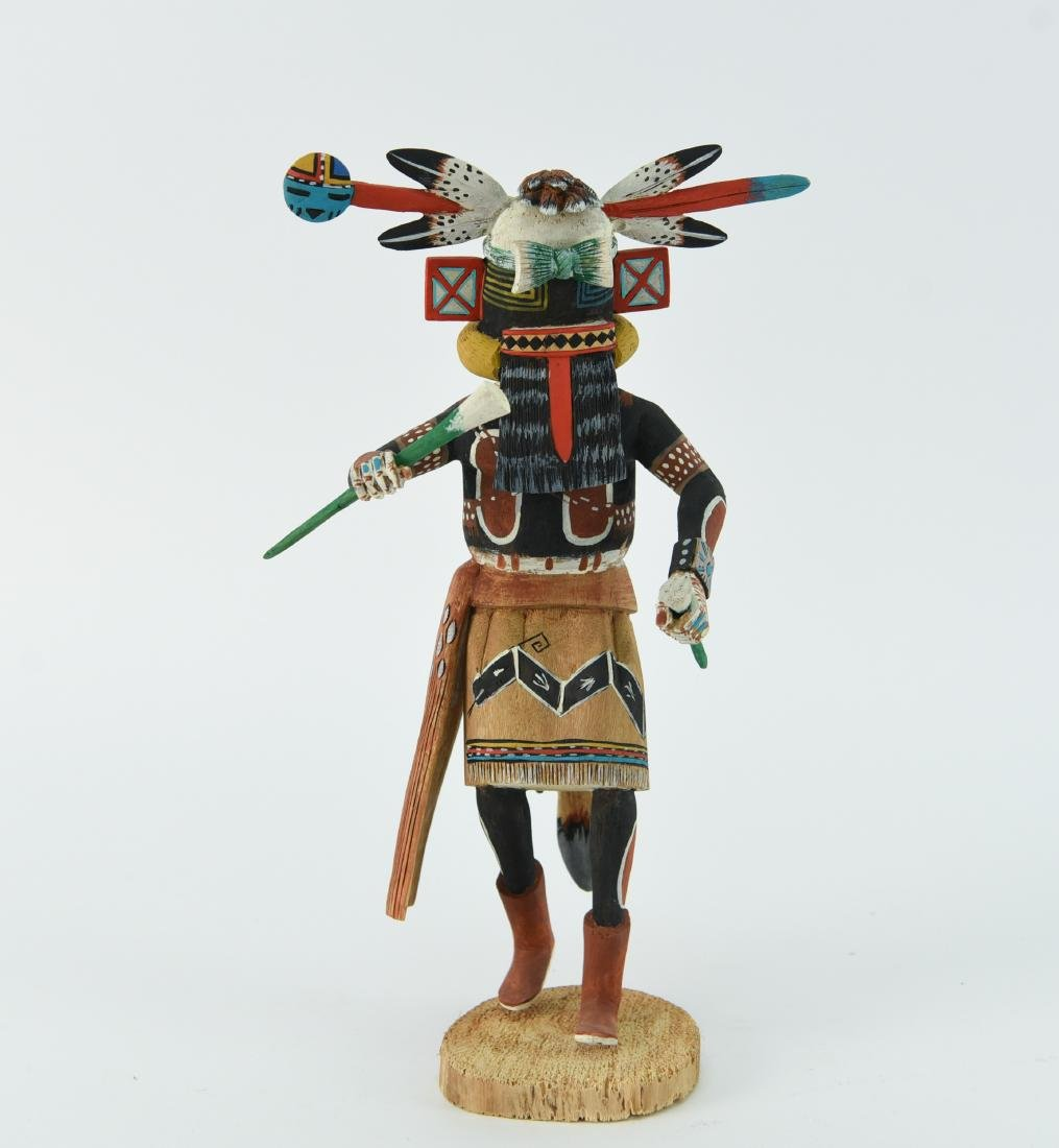 CONTEMPORARY NATIVE AMERICAN KACHINA DOLL