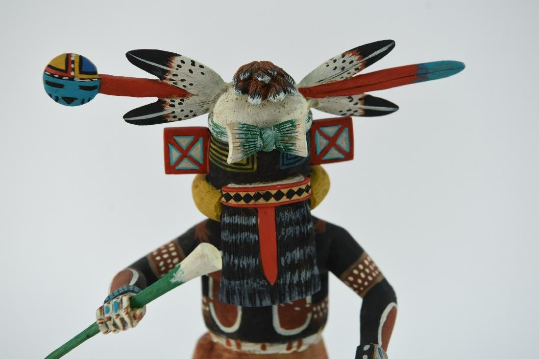 CONTEMPORARY NATIVE AMERICAN KACHINA DOLL - 2