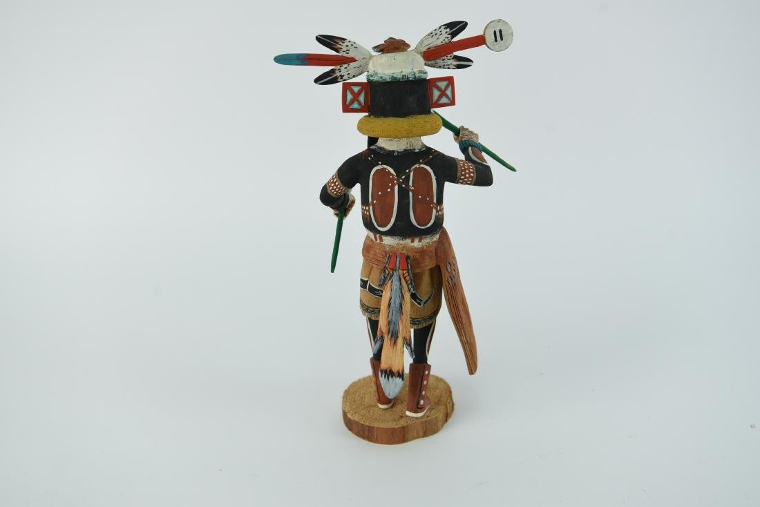 CONTEMPORARY NATIVE AMERICAN KACHINA DOLL - 7