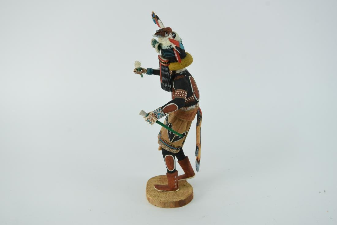 CONTEMPORARY NATIVE AMERICAN KACHINA DOLL - 8