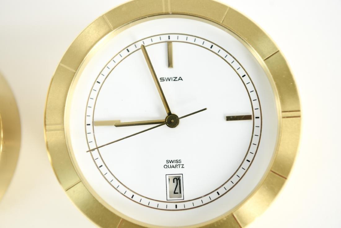 (2) SWIZA DESK CLOCKS - 4