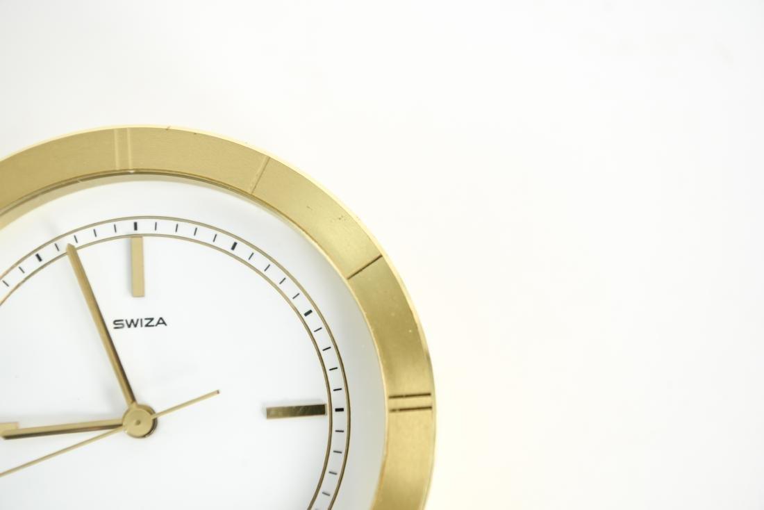 (2) SWIZA DESK CLOCKS - 5