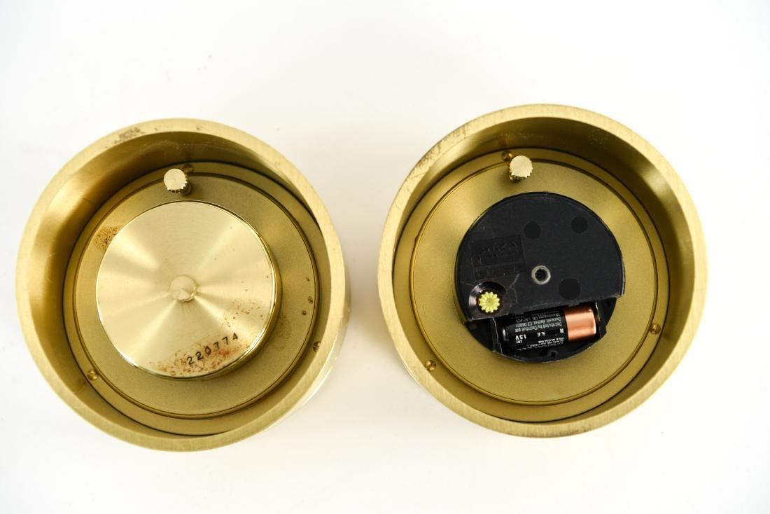 (2) SWIZA DESK CLOCKS - 8