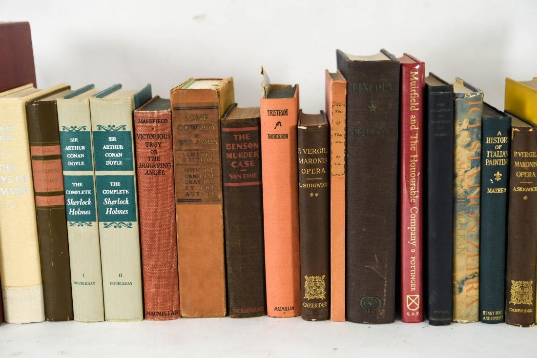GROUPING OF ESTATE FRESH VINTAGE BOOKS - 3