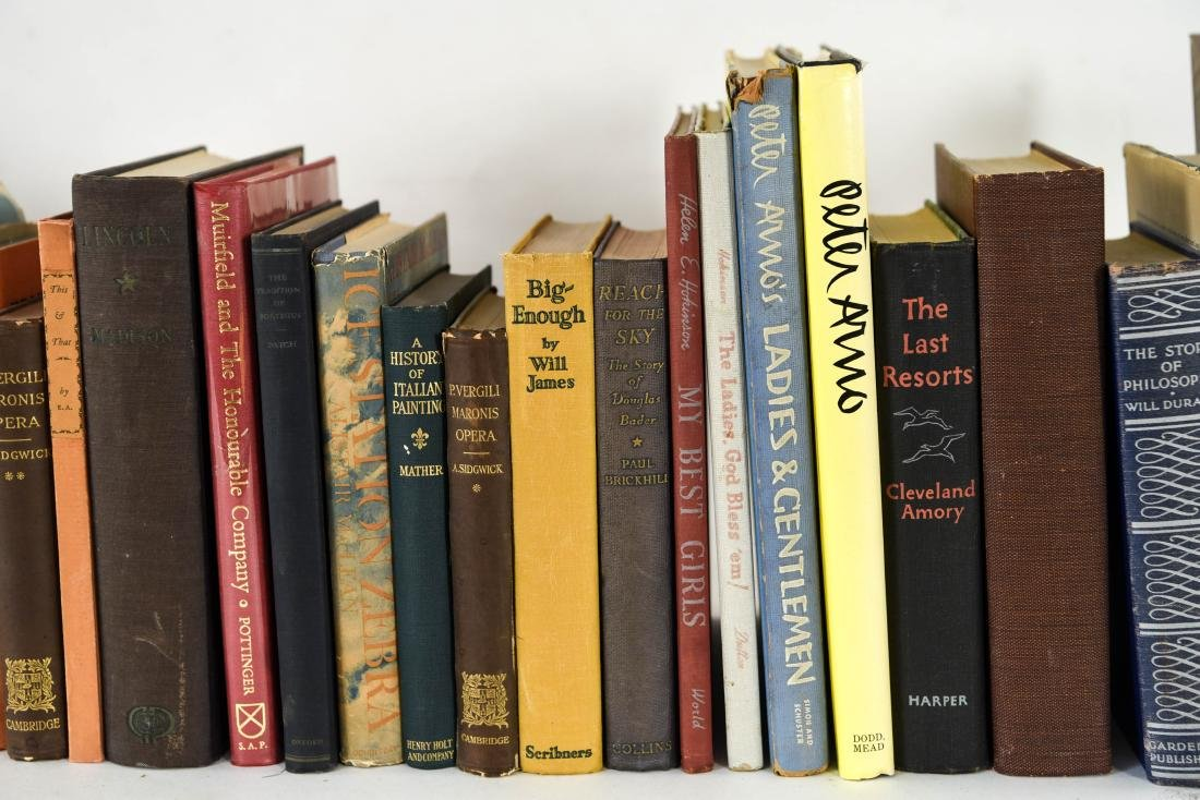 GROUPING OF ESTATE FRESH VINTAGE BOOKS - 4