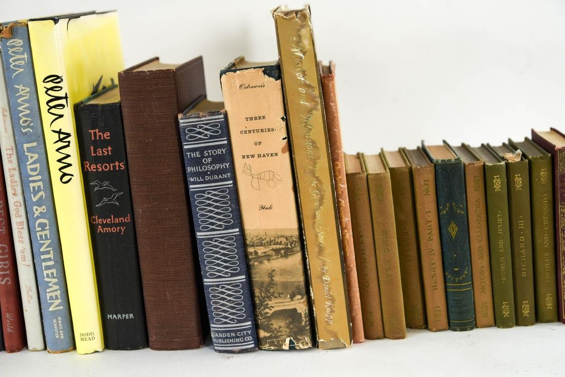 GROUPING OF ESTATE FRESH VINTAGE BOOKS - 5