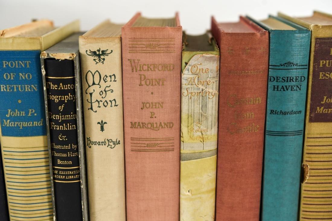 GROUPING OF ESTATE FRESH VINTAGE BOOKS - 7