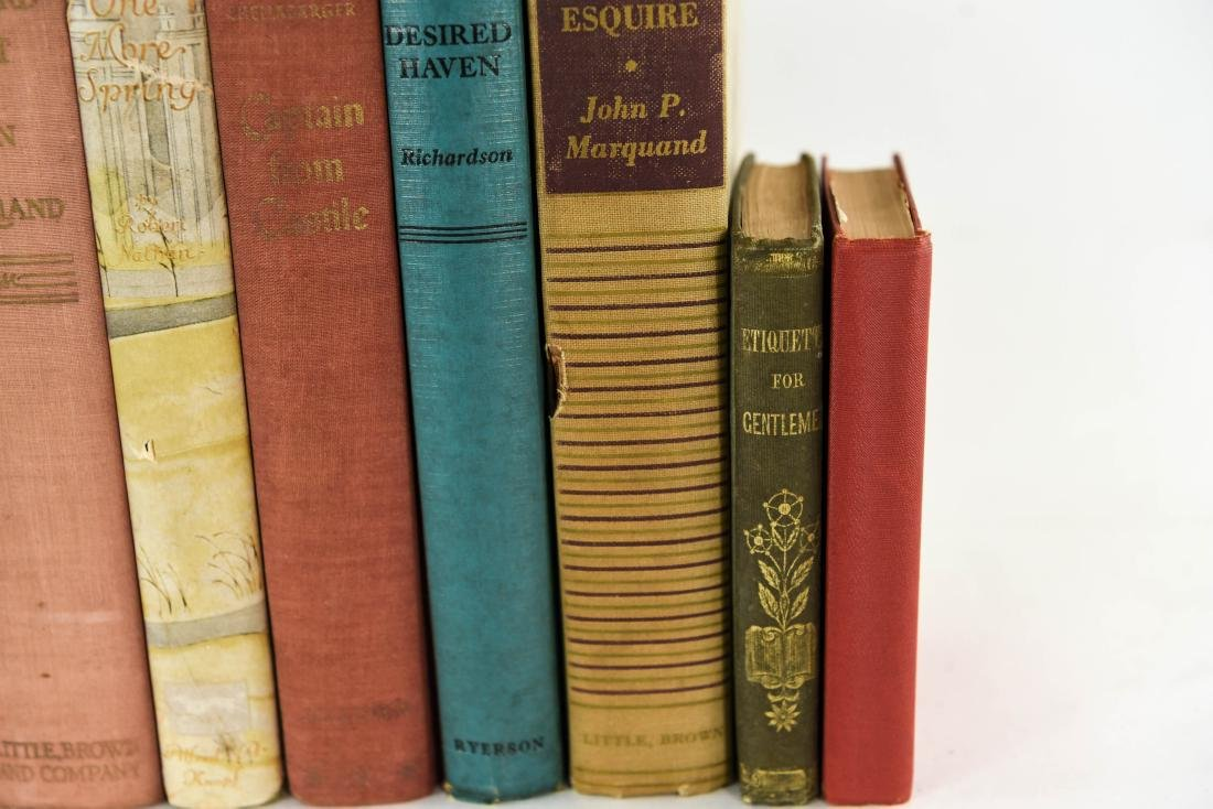 GROUPING OF ESTATE FRESH VINTAGE BOOKS - 8
