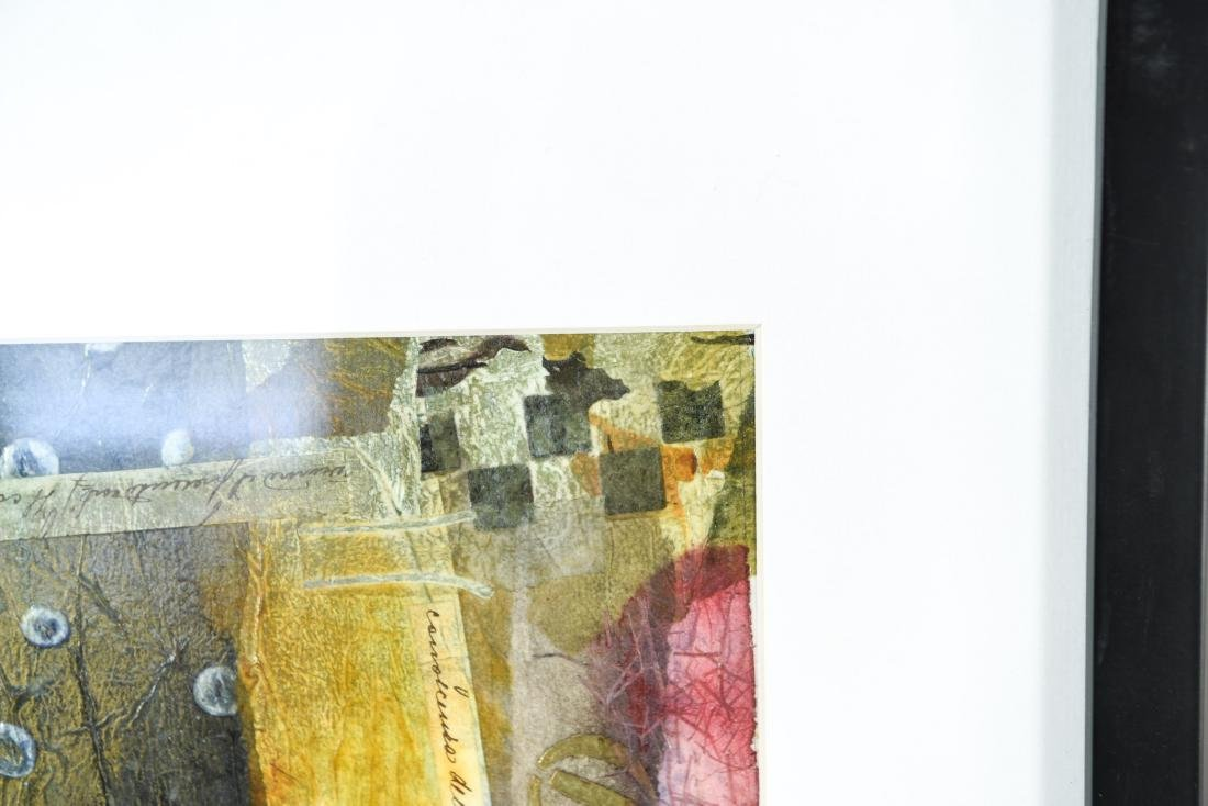 (2) BB MCINTYRE ABSTRACT COLLAGES - 7