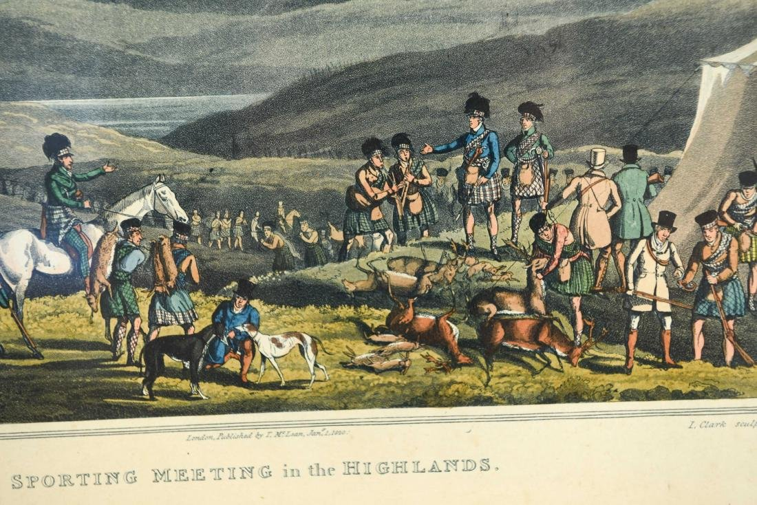(2) HENRY ALKEN HUNTING HAND COLORED AQUATINTS - 5
