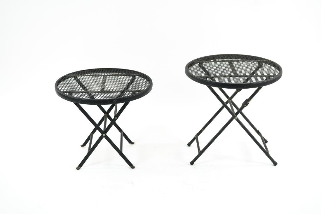 (2) METAL FOLDING TABLES
