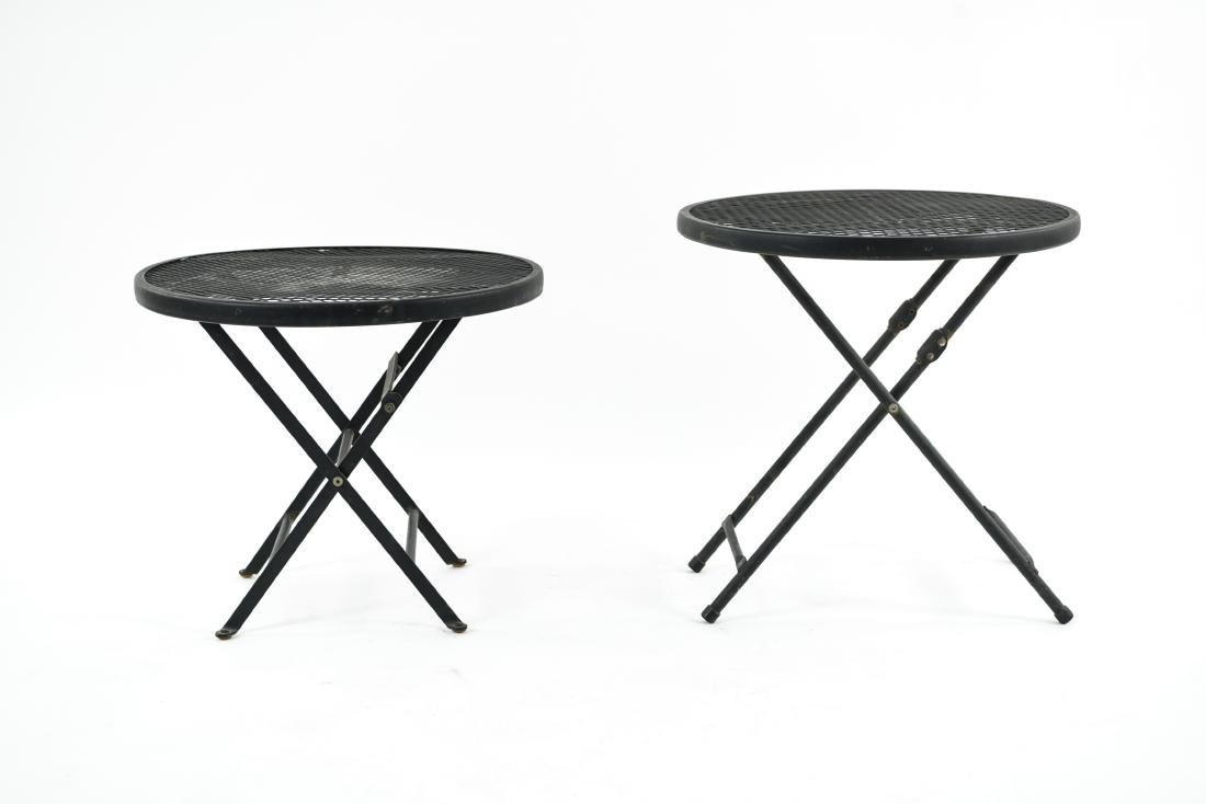 (2) METAL FOLDING TABLES - 2