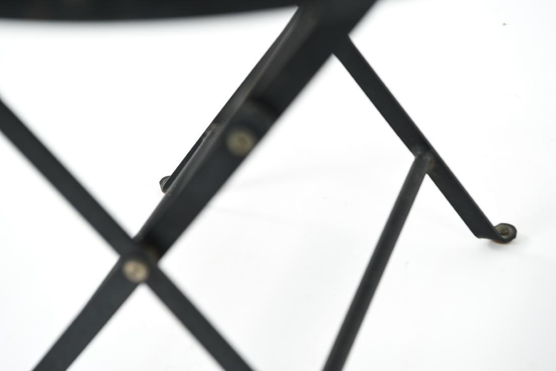 (2) METAL FOLDING TABLES - 7