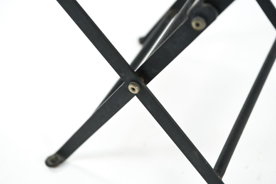 (2) METAL FOLDING TABLES - 8