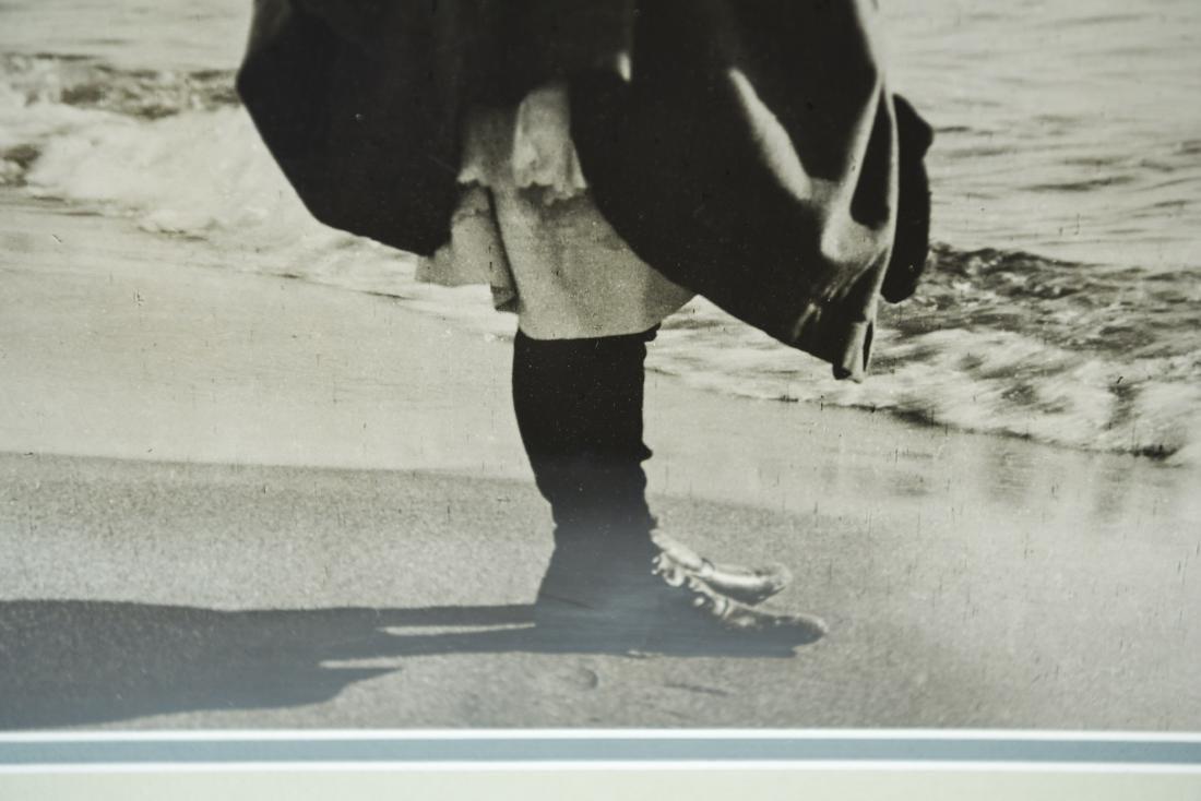 C. 1900 PHOTOGRAPH OF A GIRL ON A BEACH - 4