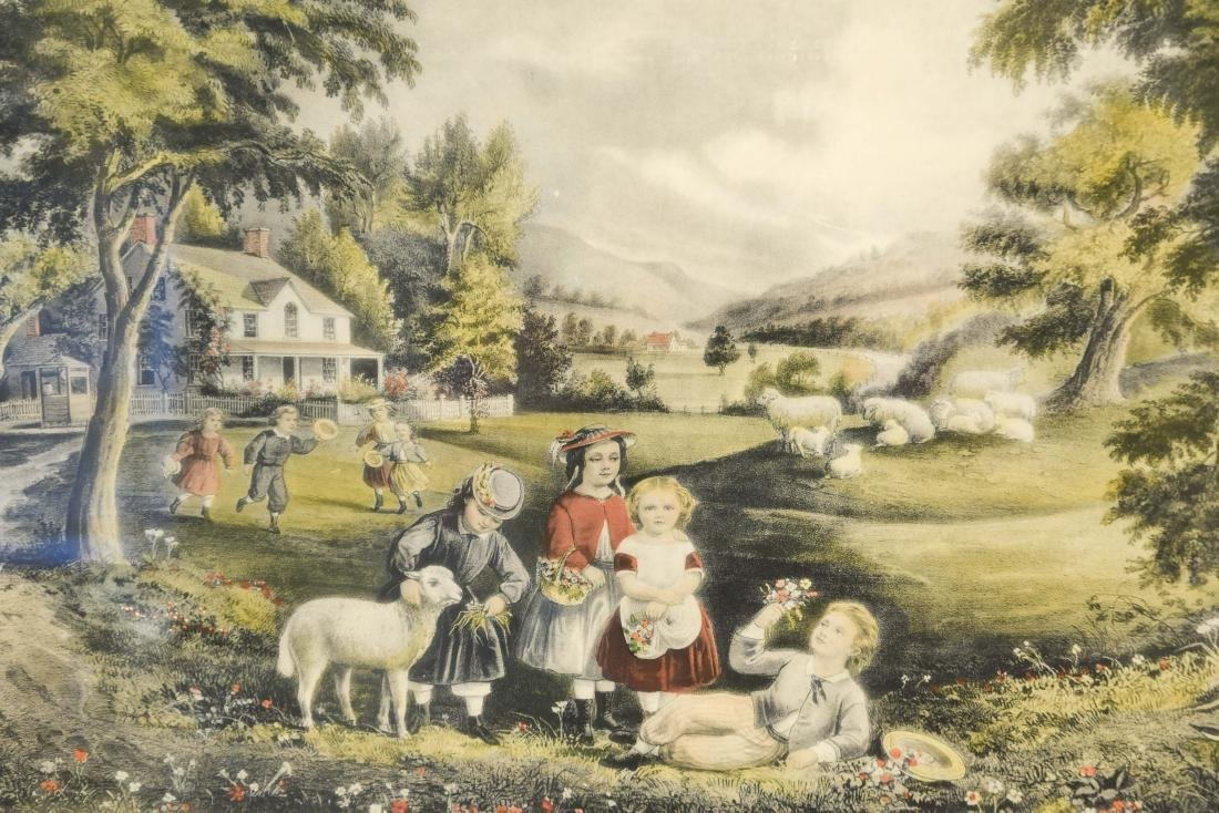 CURRIER AND IVES PRINT - 2