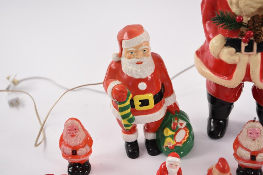 GROUPING OF VINTAGE CHRISTMAS SANTAS - 5