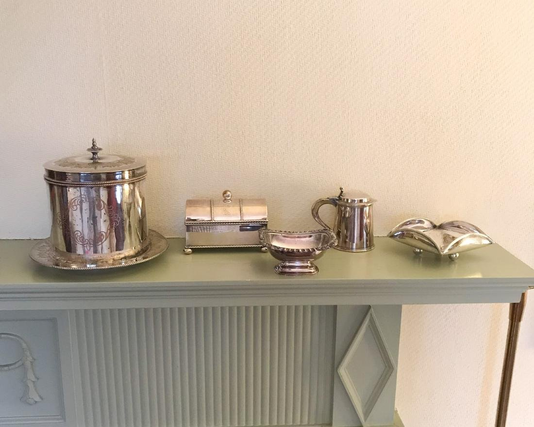 GROUPING OF SILVERPLATE