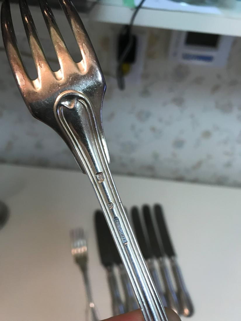 CHRISTOFLE KNIVES AND FORKS - 5