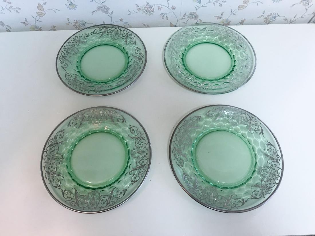 STERLING OVERLAY GLASS PLATES